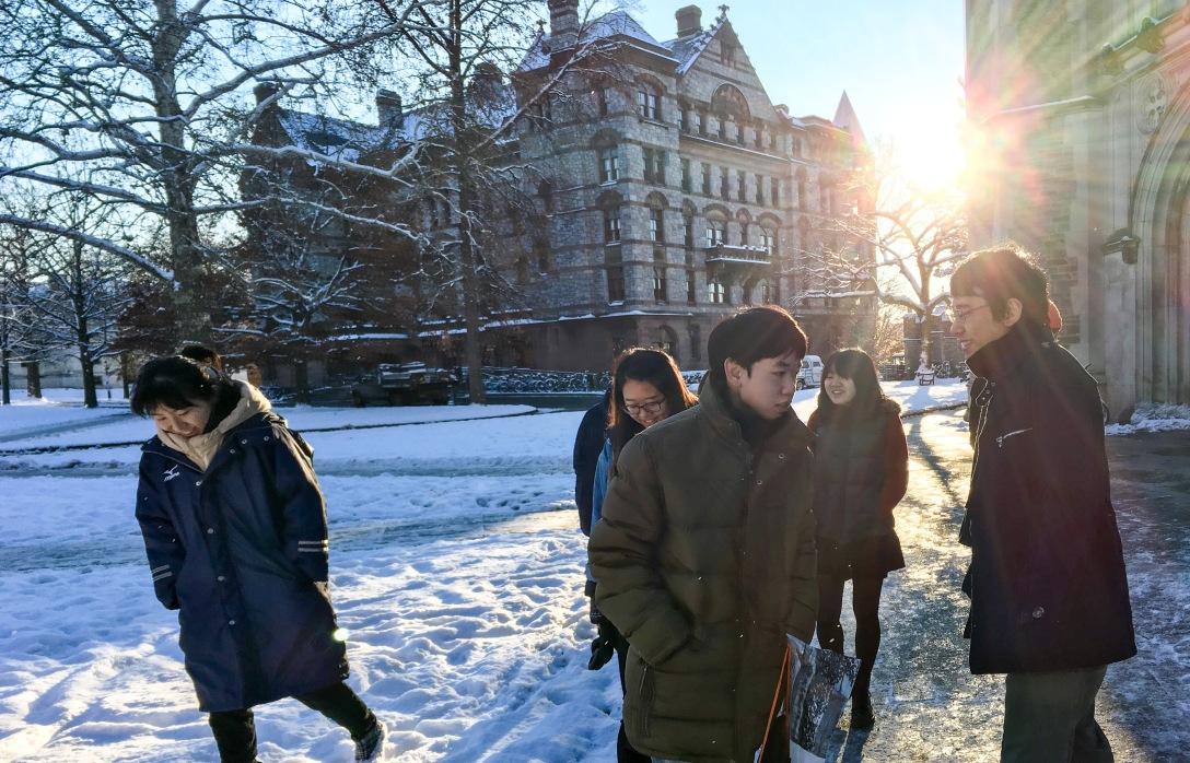 プリンストン大学を知ってもらい隊!