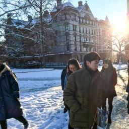 プリンストン大学、ブログ始めかけてます!