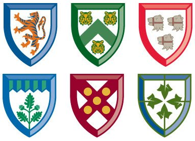 Residential College Flags